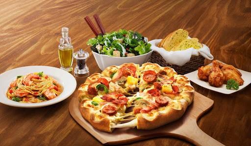thu hút đến nhà hàng - the pizza