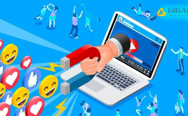 social media - tính tương tác cao
