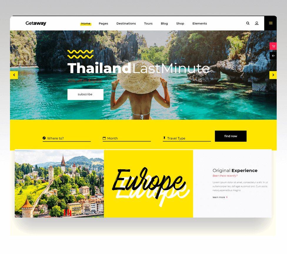 usp - website du lịch