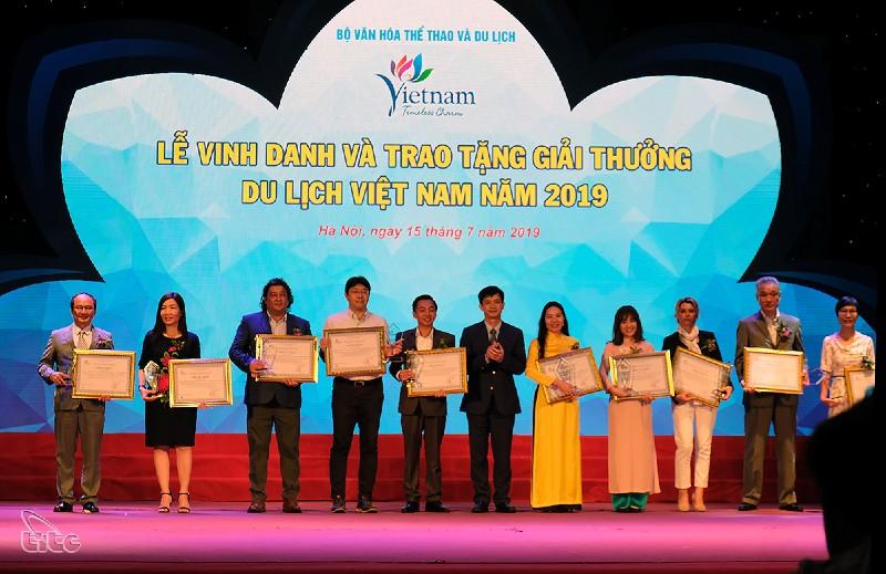 ngành du lịch Việt - giải thưởng du lịch Việt