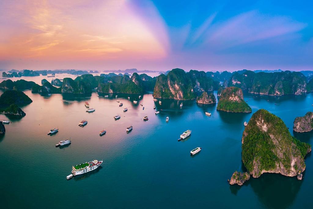 ngành du lịch Việt Nam - vịnh hạ long