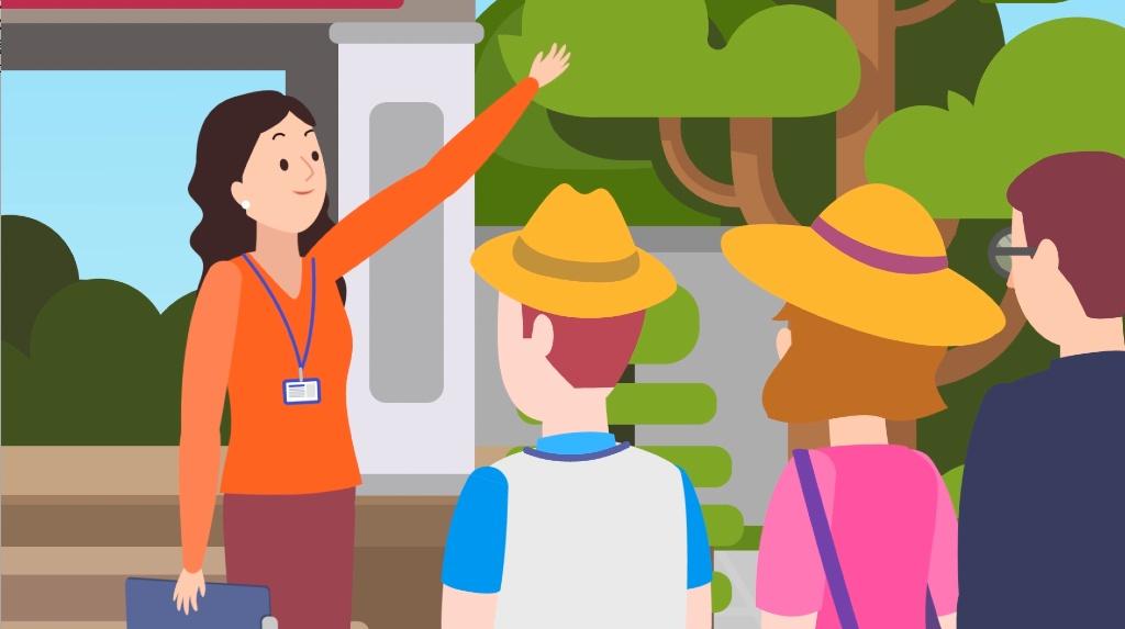 ngành du lịch Việt Nam - hướng dẫn viên du lịch